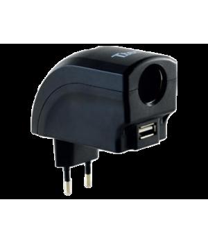 TTEC ST 1288 Şarj Cihazı Ac Dc Çakmak ve USB Çıkışlı Adaptör