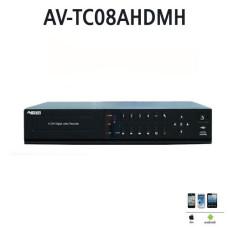 AVENiR AHD 8kanal 1080p AV-TC08AHDMH 8kanal sesli 1x 4tb AHD Kayıt Cihazı HDMI