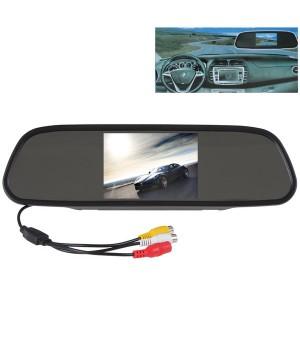 TECHSMART GHK-1018 Araç İçi Dikiz Ayna + Geri Görüş Kamerası HD