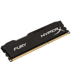 KINGSTON DDR3 4gb 1600mhz HyperX Fury HX316C10FB/4 PC Ram 240pin 1.5v Siyah Soğutuculu