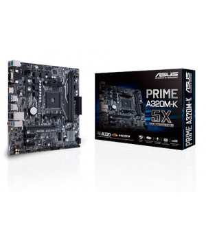 ASUS AM4 A320 DDR4 Prime A320M-K 4x Sata 2x M2 Sata