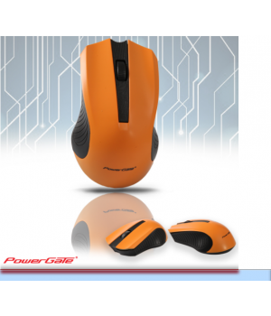 POWERGATE R530S Kablosuz Gaming Optic Turuncu/Siyah Mouse