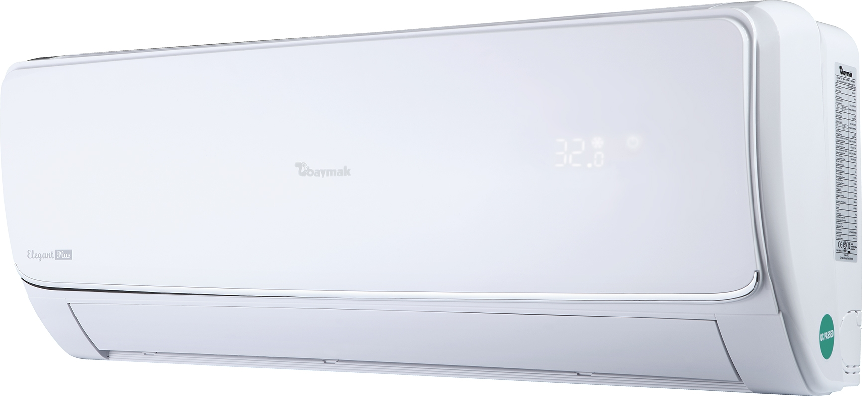 Baymak Elegant Plus 09 A++ 9000 Btu Inverter Klima